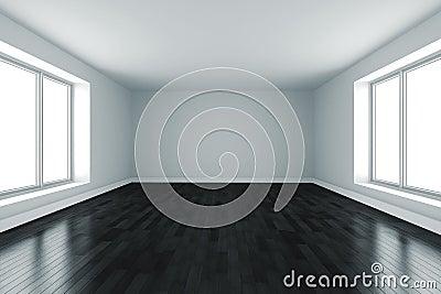 3d kamer met witte muren en zwarte vloer foto spiderpic royalty vrije stock foto 39 s - Witte muur kamer ...