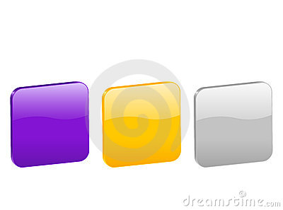 3d rounded squares 2