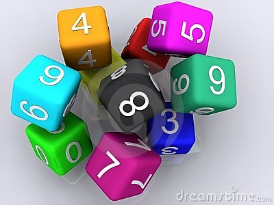 3d rubber cubes