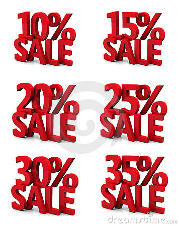 3d sale 10 15 20 25 30 35 percent