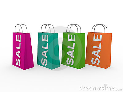 3d sale bag colorful