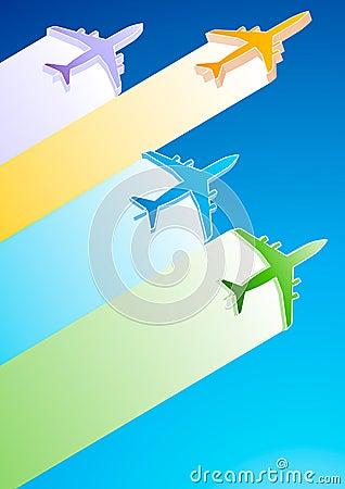 3D Samoloty