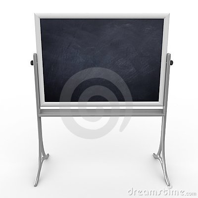 3d school mobile blackboard