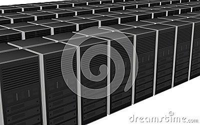 3D server farm computer design