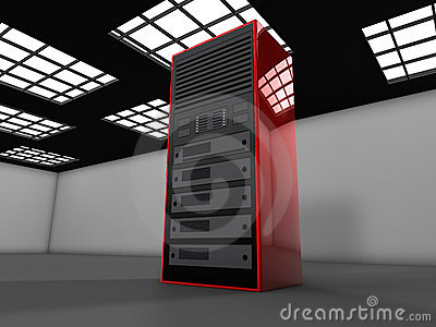 3D server illustration