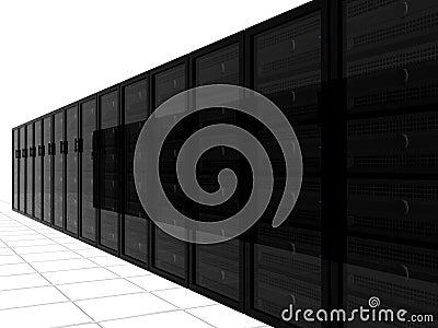 3D Server Racks
