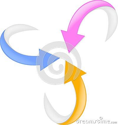 3d set arrow