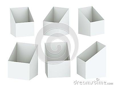 3D Shelf Box Display