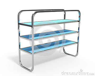 3D shelves and shelf