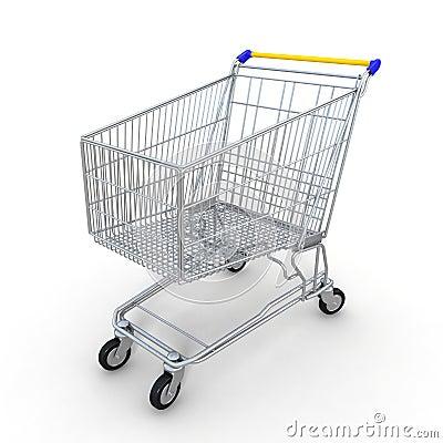 3d shopping cart