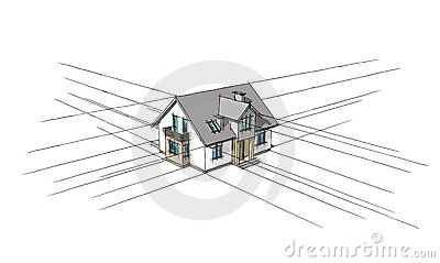 3D sketch of the home