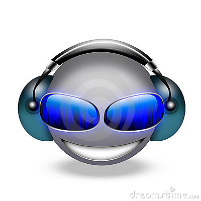 3d smiley dj
