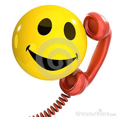 Free 3d Smiley Phone Royalty Free Stock Images - 38945439
