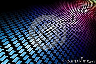 3D spectrum mosaic