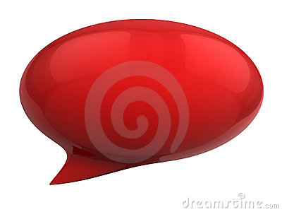 3d speech bubble