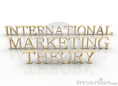 3d spelling international marketing theory