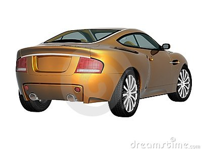 3d sport car