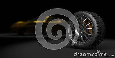 3d sport tire