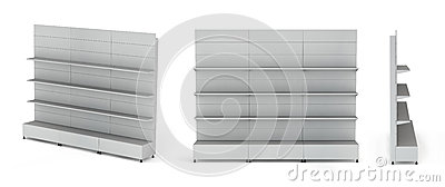3D Stands For Advertising Royalty Free Stock Photo - Image: 26247945