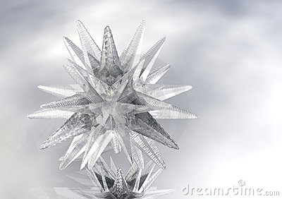 3D Star of Ice