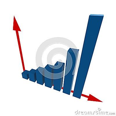 Free 3d Statistics Royalty Free Stock Photo - 4952335