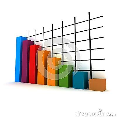 Free 3d Statistics Stock Image - 5697291