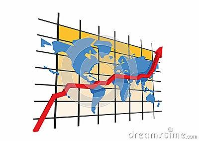 3d statistics - world map