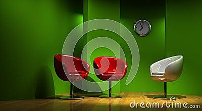 3D studio for three