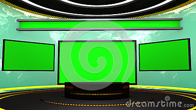 3d television stage