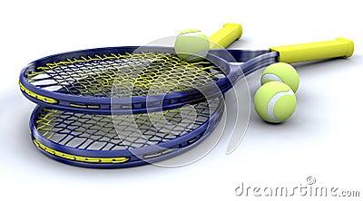 3d Tennis equipment