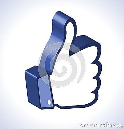 3d Thumb Up
