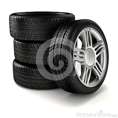 Free 3d Tires Stock Images - 36065864