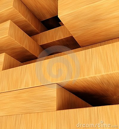 Free 3d Tower From Blocks, Puzzle And Missing Pieces Royalty Free Stock Photo - 24076495