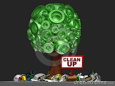 3D tree with clean up