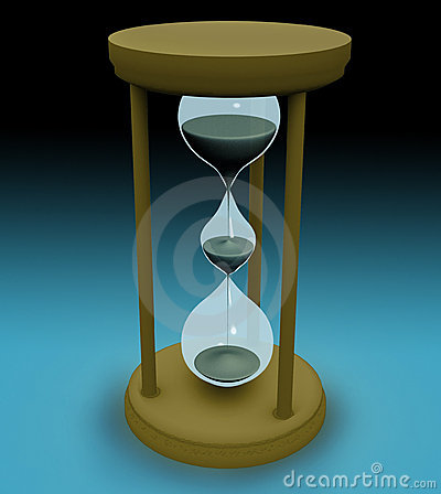 Free 3d Triple Hourglass Royalty Free Stock Photos - 103738