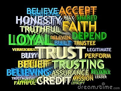 3d TRUST's word-cloud