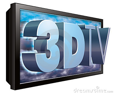 3D TV or 3DTV Television