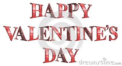 3D Valentine's Day