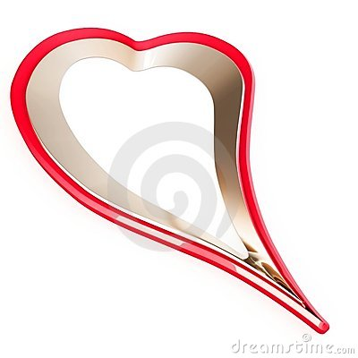 3d valentine s day heart shape
