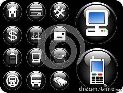 3D Vector Buttons