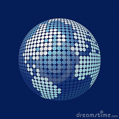 3D vector globe