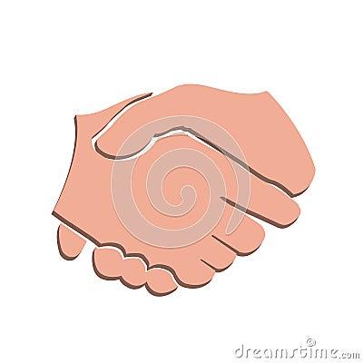 3d vector handshake