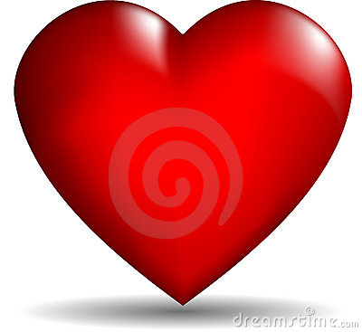 3d Vector Heart Stock Photos Image 12158393