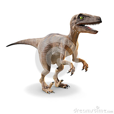Free 3d Velociraptor Royalty Free Stock Photography - 37973467
