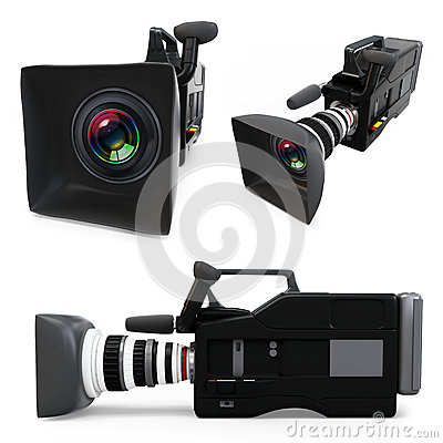 3d video camera collection