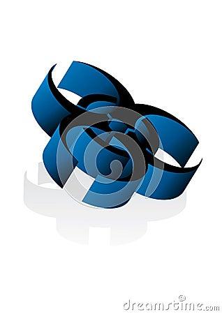 3d virus sign