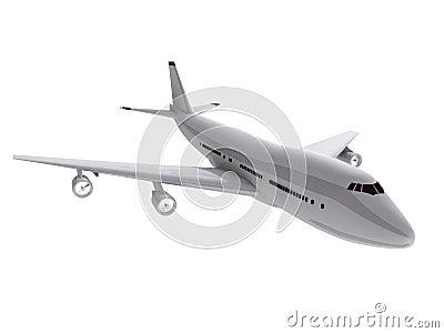 3d vliegtuig