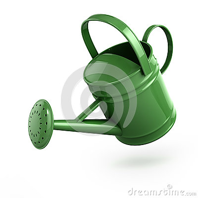 Free 3d Watering Can Stock Image - 38801161