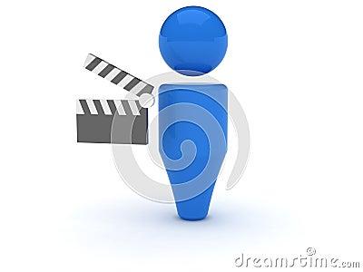 3d web icon - Video
