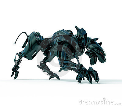 3d wild hunter - cyber panther